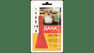 Дана Ультра для собак и щенков 10-20 кг